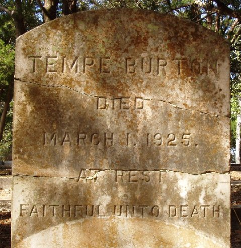 Wordless Wednesday:  My Great, Great-Grandmother's Grave is Found!