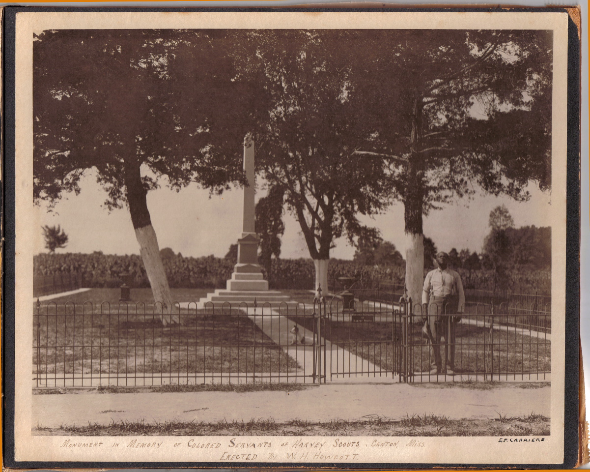 Wordless Wednesday: A Confederate's Monument to His Slave