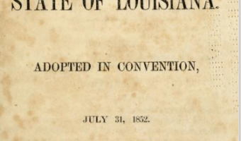Follow Friday: Can the 1852 Constitutional Convention of Louisiana help find my Enslaved Family?